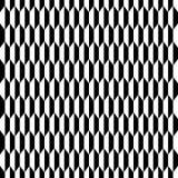Modello monocromatico senza cuciture geometrico Fotografie Stock