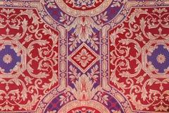 Modello multicolore d'annata del tessuto Fotografia Stock Libera da Diritti