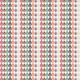 Modello multicolore delle foglie Fotografia Stock