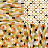 Modello multicolore geometrico senza cuciture royalty illustrazione gratis
