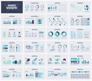 Modello multiuso di vettore di presentazione infographic Fotografia Stock Libera da Diritti