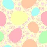 Modello nastro-avvolto senza cuciture delle uova di Pasqua Immagine Stock Libera da Diritti