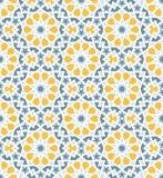 Modello nello stile islamico Fotografia Stock