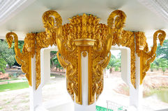 Modello nello stile tailandese tradizionale in Arngthong Immagine Stock
