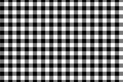 Modello nero del percalle Struttura dal rombo/quadrati per - il plaid, tovaglie, vestiti, camice, vestiti, carta, lettiera, coper fotografie stock