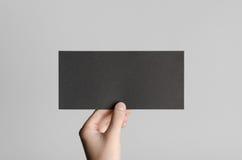 Modello nero dell'aletta di filatoio di DL Immagine Stock