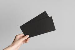 Modello nero dell'aletta di filatoio di DL Immagini Stock Libere da Diritti