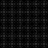 Modello nero e grigio Immagini Stock Libere da Diritti
