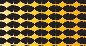 Modello nero ed arancio astratto moderno semplice dell'uovo Fotografie Stock Libere da Diritti