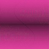 Modello nero porpora geometrico luminoso del semitono Illustrazione astratta di vettore con i punti illustrazione vettoriale