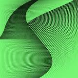 Modello nero verde geometrico luminoso del semitono Illustrazione astratta di vettore con i punti royalty illustrazione gratis