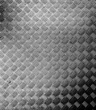 Modello o reticolo di piastra metallica Fotografie Stock