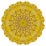Modello organico rotondo ornamentale Immagine Stock Libera da Diritti