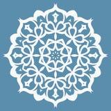 Modello orientale con gli arabesque e gli elementi floreali fotografia stock libera da diritti