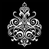 Modello orientale dell'elemento decorativo Fotografia Stock Libera da Diritti