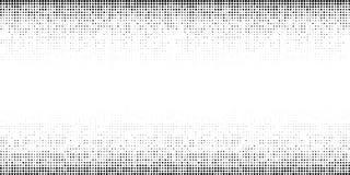 Modello orizzontale di semitono di pendenza Fondo facendo uso di struttura casuale di semitono dei punti Contesto di Grunge tecno illustrazione di stock