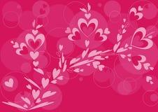 Modello ornamentale del cuore Fotografia Stock Libera da Diritti