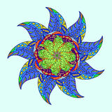 modello ornamentale del tipo di stella Fotografia Stock Libera da Diritti