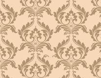 Modello ornato floreale classico Immagini Stock
