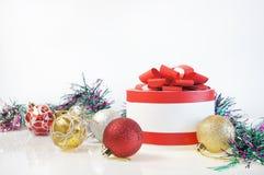 Modello per la cartolina di Natale Immagini Stock