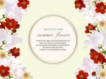 Modello per le cartoline d'auguri, decorazioni di nozze, invito, sal Fotografie Stock