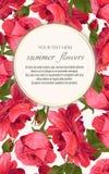 Modello per le cartoline d'auguri, decorazioni di nozze, invito, sal Fotografie Stock Libere da Diritti