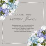 Modello per le cartoline d'auguri, decorazioni di nozze, invito, sal fotografia stock