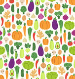 Modello piano delle verdure Immagine Stock Libera da Diritti