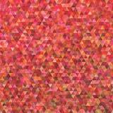 Modello poligonale geometrico del fondo del triangolo Fotografia Stock