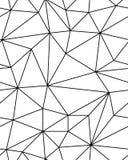 Modello poligonale senza cuciture Immagine Stock