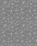 Modello poligonale senza cuciture Immagini Stock