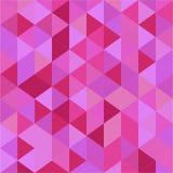 Modello porpora del triangolo Fotografia Stock Libera da Diritti
