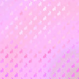 Modello porpora rosa di Bunny Background Faux Foil Bunnies fotografie stock