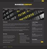 Modello professionale di Web site Fotografia Stock