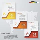 Modello pulito delle insegne di numero di progettazione Vettore Fotografie Stock