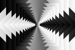 Modello quadrato di illusione ottica royalty illustrazione gratis