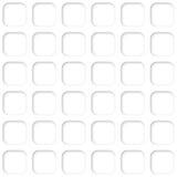 Modello quadrato senza cuciture della maglia sottragga la priorità bassa Immagine Stock Libera da Diritti