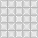 Modello quadrato senza cuciture grigio sottragga la priorità bassa Immagine Stock