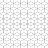 Modello quadrato senza cuciture grigio sottragga la priorità bassa Immagine Stock Libera da Diritti