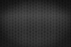 Modello quadrato su fondo nero Fotografie Stock