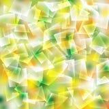 Modello quadrato variopinto astratto per tessuto nel concetto di estate illustrazione di stock