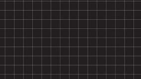 Modello a quadretti monocromatico semplice Immagini Stock Libere da Diritti