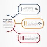 Modello rapporto di Infographic Illustrazione di vettore illustrazione vettoriale