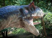 Modello realistico del dinosauro Immagini Stock Libere da Diritti