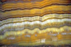 Modello retroilluminato e traslucido, bello naturale della pietra dell'onyx, fotografia stock