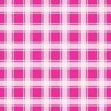 Modello rosa del percalle, fondo geometrico illustrazione vettoriale