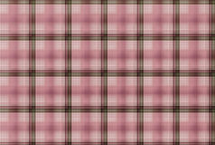 Modello rosa del tartan - Tabella dell'abbigliamento del plaid Fotografia Stock