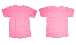 Modello rosa della maglietta Immagini Stock Libere da Diritti