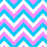 Modello rosa e blu Fotografie Stock