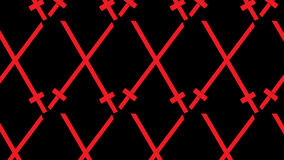 Modello rosa e nero astratto moderno semplice della spada Fotografia Stock Libera da Diritti